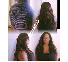 1000 Images About Sew In Braid Pattern On Pinterest Full Head Sew In Vixen Sew In And Braid