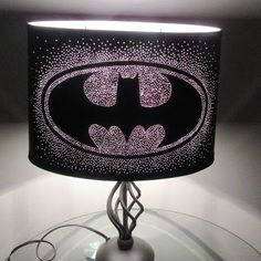 Batman Lamp ($85) ❤ liked on Polyvore featuring home, lighting ...