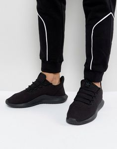 timeless design a5d1c 42655 adidas Originals Tubular Shadow Sneakers In Black CG4562