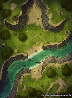 GoAdventureMaps is creating Maps for Dungeons and Dragons & other TTRPGs Dnd World Map, Fantasy World Map, Fantasy Places, Dungeons And Dragons Homebrew, D&d Dungeons And Dragons, Antique Maps, Vintage Maps, Forest Map, Pathfinder Maps