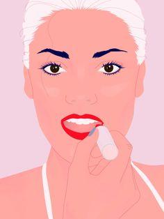 Lippenstift richtig auftragen. Mit unserr Schritt-für-Schritt-Anleitung geht's super einfach - versprochen!