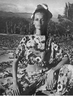 Veruschka by Franco Rubartelli, 1966