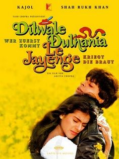 """classic romantic bollywood movie  """"Come...fall in love"""" -- Dilwale Dulhania Le Jayenge"""