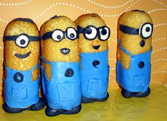 despicable me cupcakes minions   Despicable Me Twinkies