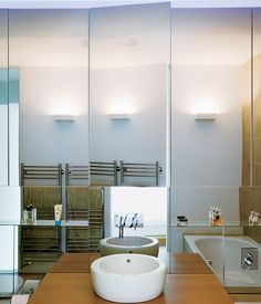 Lovely bathroom with enormous storage