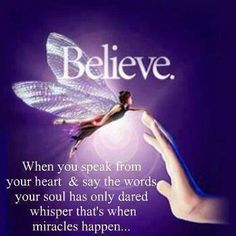 Believe ♡