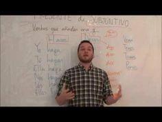 """""""Presente de Subjuntivo verbos irregulares III"""" Spanishfspain"""