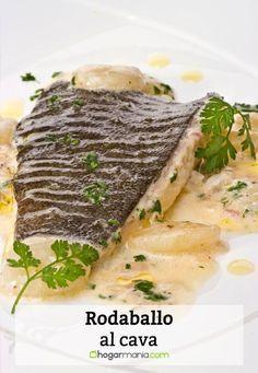 Receta de rodaballo al cava Incredible Edibles, Fish And Seafood, Italian Recipes, Italian Foods, Asparagus, Pork, Food And Drink, Menu, Yummy Food