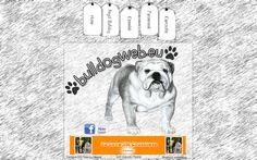 Bulldogos weboldal terv