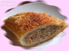Recette de rissois ( beignet portugais)