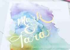 絵心なくても大丈夫♡ふわふわ淡~い色味が可愛い、『水彩画アート』の簡単DIY方法まとめ*