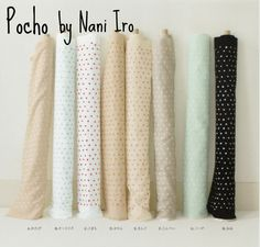 This fabric, Pocho by Nani Iro for Kokka, has been around a while. However, I just can't get en...