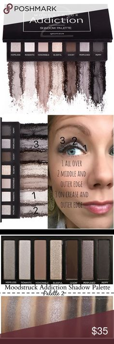 Younique eyeshadow palette number 2 Brand new in box! Younique Makeup Eyeshadow