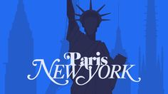 Paris/ NY. Nice drawing. Shows side by side differences of similar categories.