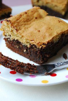 Recipe: caramel-pecan brownie