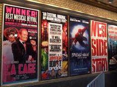 Shubert Alley-Broadway Show Posters