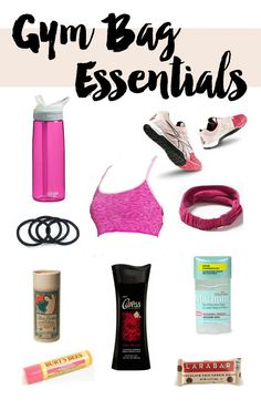 Sharing gym bag essentials with Caress! #Caress12Hour #spon