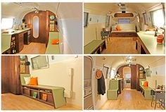 Our 1968 Airstream remodel. We design and build custom Airstream Travel Trailer remodels for private owners and businesses in Los Angeles, Ventura, and beyond.. | ABLE + BAKER