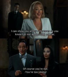the addams family quote - Google Search