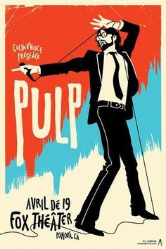 Kii Arens Pulp Poster