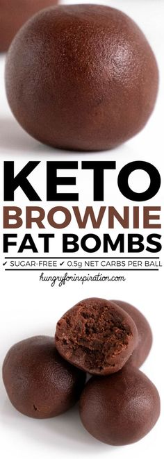 These Velvety No Bake Keto Brownie Bites will wipe out your sweet cravings in no time! Easy Keto Chocolate Fat Bombs with almost zero carbs! (Only net carbs per ball! These Velvety No Bake Keto Brownie Bites will . Keto Desserts, Keto Snacks, Dessert Recipes, Dinner Recipes, Diabetic Snacks, Keto Friendly Desserts, Yogurt Recipes, Quick Snacks, Avocado Recipes