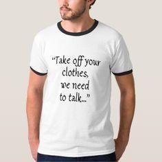 talk T-Shirt - funny quotes fun personalize unique quote