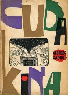 CUDA KINA, Warszawa 1961, book cover by Roman Cieślewicz