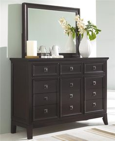 Martini Suite Dresser And Mirror Combination By Ashley Millennium  Www.shopweathers.com Cheap Bedroom