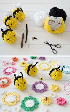 Crochet Amigurumi Bee Free Pattern