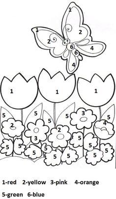 Spring Worksheets for Kids. 20 Spring Worksheets for Kids. Free Printable Spring Worksheet for Kindergarten 1 Spring Coloring Pages, Free Coloring Pages, Coloring Sheets, Coloring Books, Kindergarten Coloring Pages, Kindergarten Worksheets, Kindergarten Reading, Free Preschool, Preschool Crafts
