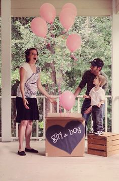 gender reveal... Hmmm not a bad idea then we could both find out the same time