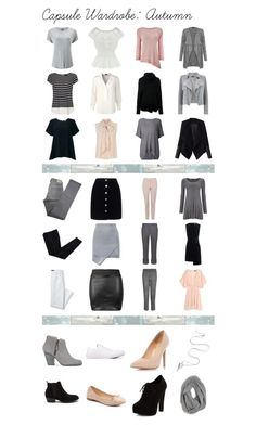 """Capsule Wardrobe"" by falsettoslumber on Polyvore featuring Phase Eight, WithChic, ESCADA, Kitx, New Look, Mint Velvet, MaxMara, Relaxfeel, Comptoir Des Cotonniers and Miss Selfridge"