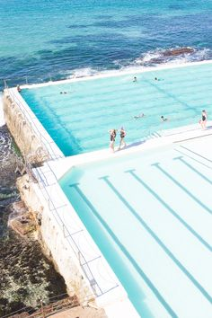 Feeling Blue: Bondi Icebergs - DENTON & LOU