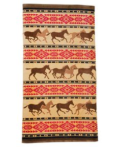 Horse Adventure Bath Towel