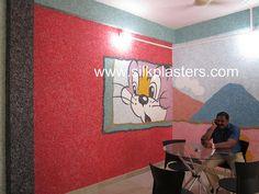 SILK PLASTER : Designer's red color | Flickr - Photo Sharing! Silk Plaster, Red Color, Design, Home Decor, Wall, Texture, Homemade Home Decor, Design Comics, Decoration Home