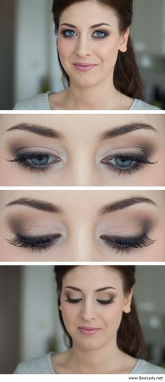 A neutral example, the crease-liner colour could be changed for navy