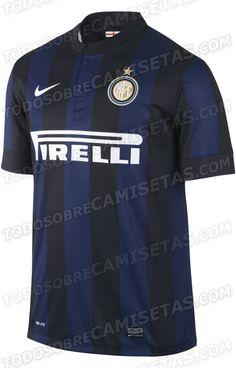 Todo Sobre Camisetas   Inter Milan  Nike Home Kit 2013 2014 LEAKED c1150e60802a7