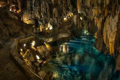Corinth, Cave of Lakes, and Odontotos Railway Private Tour 2018 - Athens Best Places To Travel, Places To See, Corinth Canal, Underground Caves, Some Beautiful Pictures, Beautiful Places, Day Tours, Walking Tour, Athens