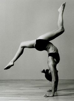 LOVE gymnastics--you learn so much about your body and body awareness and control.