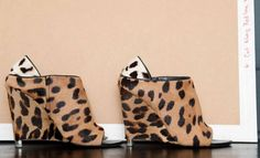 I don't think there's an editor alive who doesn't have these shoes, but I love them anyway. I've developed a thing for leopard lately. I wouldn't do leopard-on-leopard, but it's great small doses.