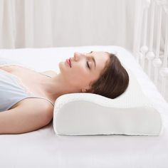 Sleeping should not be uncomfortable and it should not result in pain. A good pillow will relieve neck and shoulder pain from sleeping. Neck And Shoulder Pain, Neck Pain, Foam Pillows, Baby Pillows, Contour Pillow, Orthopedic Pillow, King Size Pillows, Neck Pillow, Good Sleep