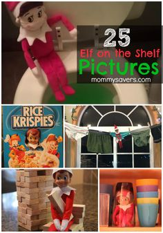 25 Elf on the Shelf Pictures