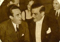 Harold Lloyd with Ernst Rolf 1932