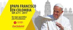 Tour Papa Francisco Colombia 2017