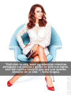 Las frases más glamorosas de las it girls que protagonizaron nuestra portada Sofía Vergara, en la edición de Febrero 2013.