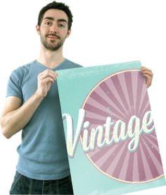 Vintage Type Photoshop Tutorial