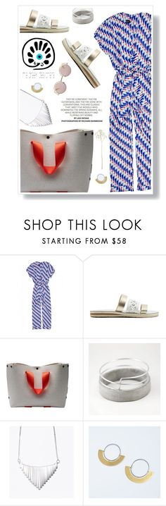 """""""Untitled #963"""" by vilena ❤ liked on Polyvore featuring Oliver Peoples, thegreekdesigners and cycladicframes"""