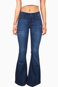 Whirlwind Bell Bottom Jeans