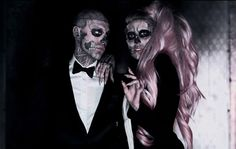 Rick Genest - Rico the Zombie   Tattoos, Fashion, Modeling
