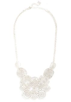 Brighten It Up Necklace in Silver